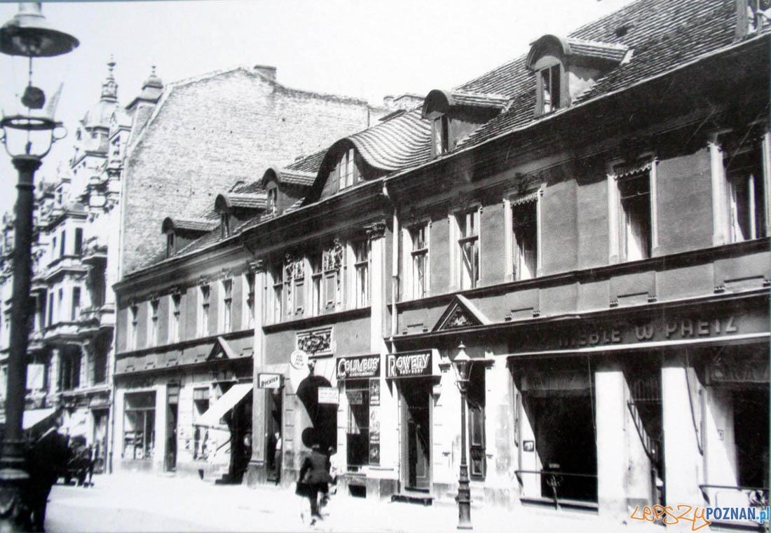Dawny Hotel Saski, przy ulicy Wrocławskiej  Foto: