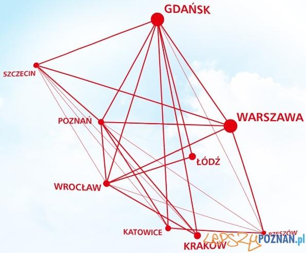 OLT_Express_mapka_polaczen  Foto: