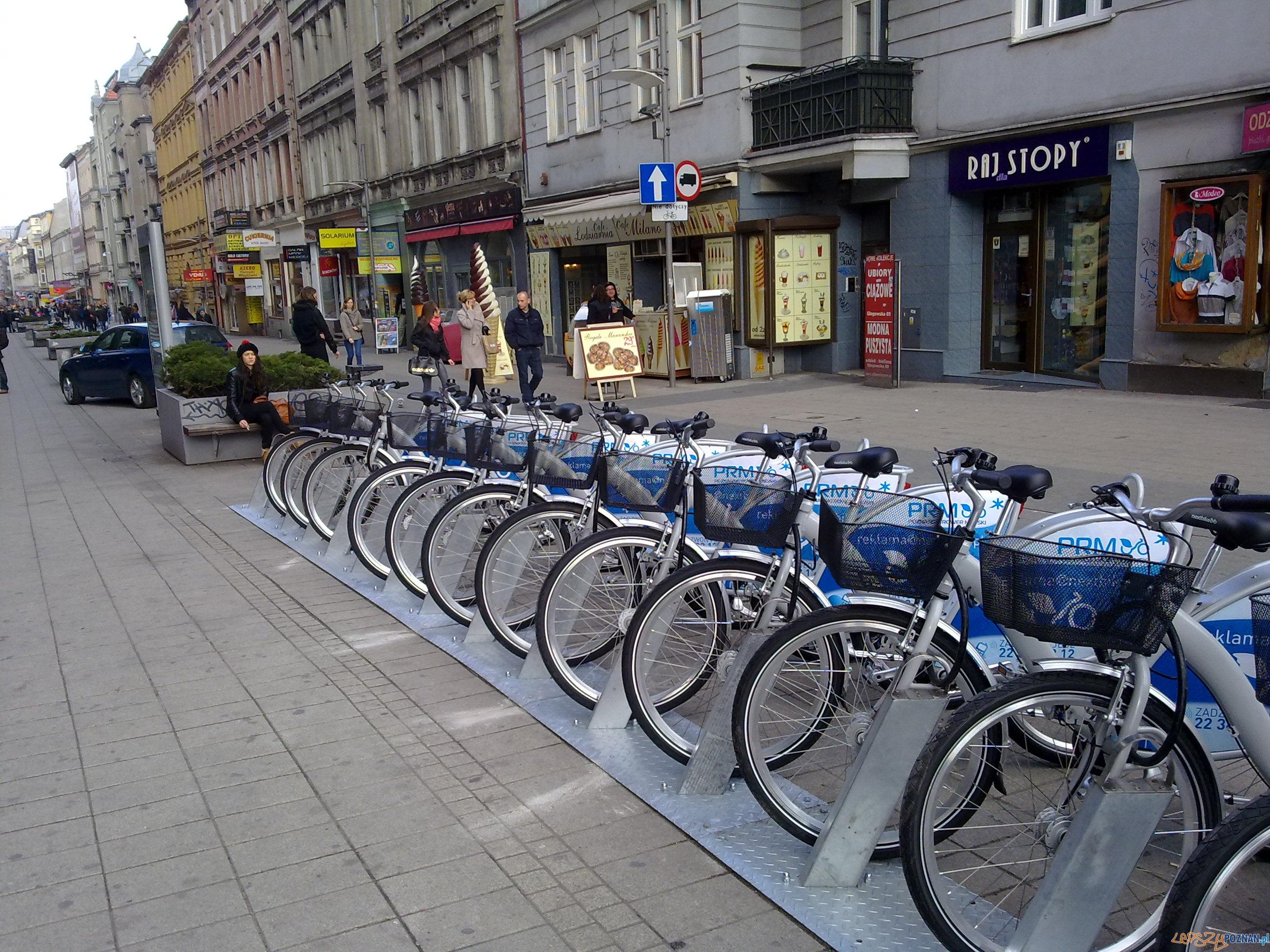 Poznański system rowerowy  Foto: