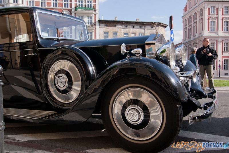 III Międzynarodowy Zlot Samochodów Rolls-Royce & Bentley - Poznań 12.05.2012 r.  Foto: LepszyPOZNAN.pl / Paweł Rychter