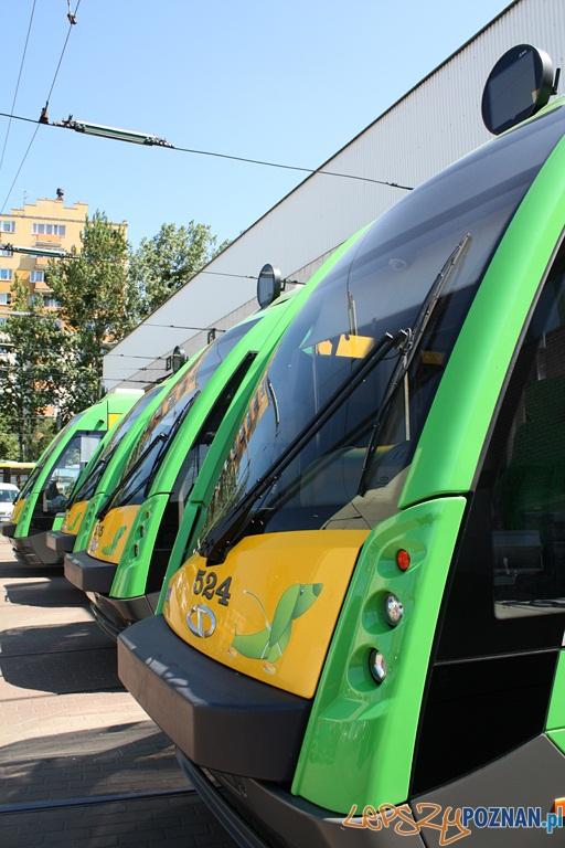 Dostawa Solarisów Tramino zakończona  Foto: Solaris