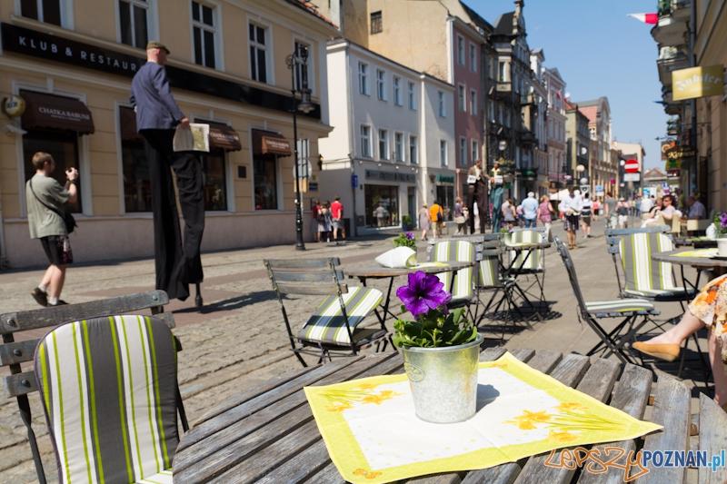Ulica Wrocławska oficjalnie deptakiem  Foto: lepszyPOZNAN.pl / Piotr Rychter