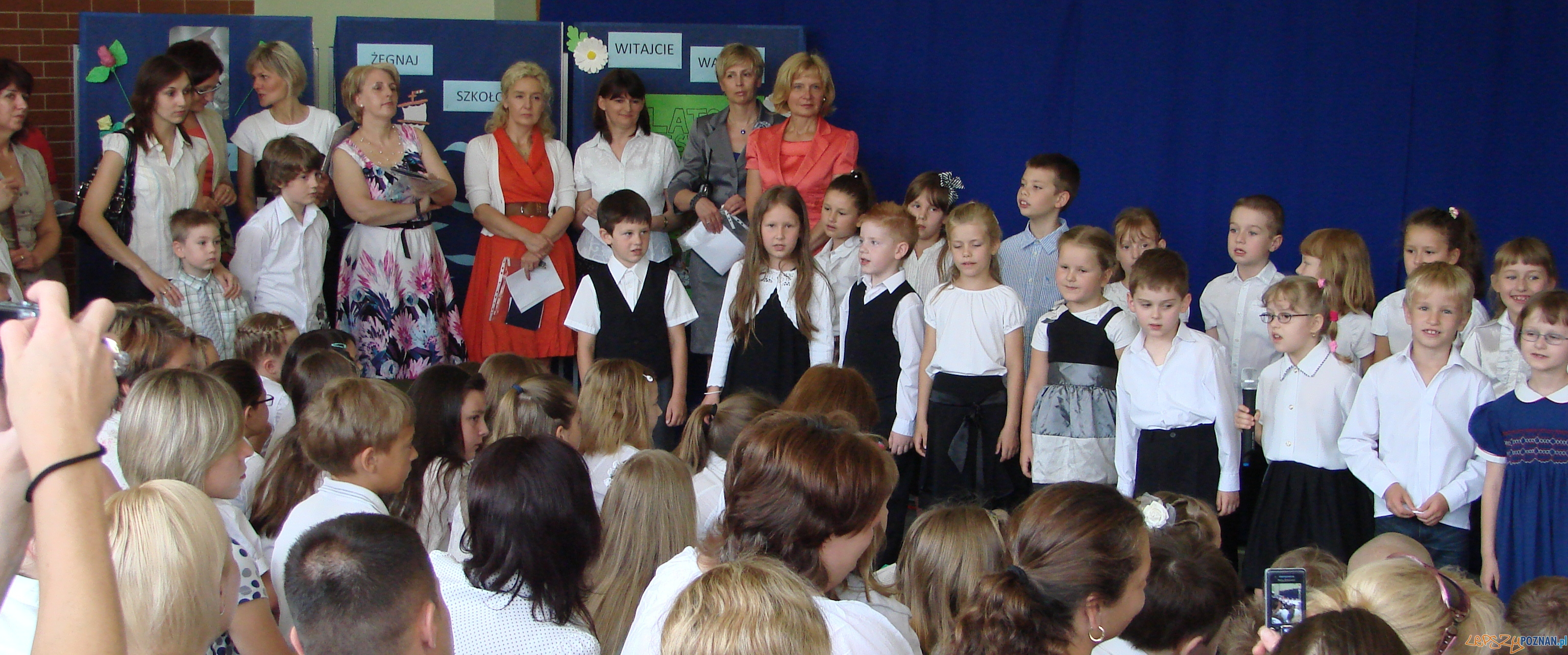 Koniec roku szkolnego w SP 87 w Poznaniu  Foto: lepszyPOZNAN.pl / ag