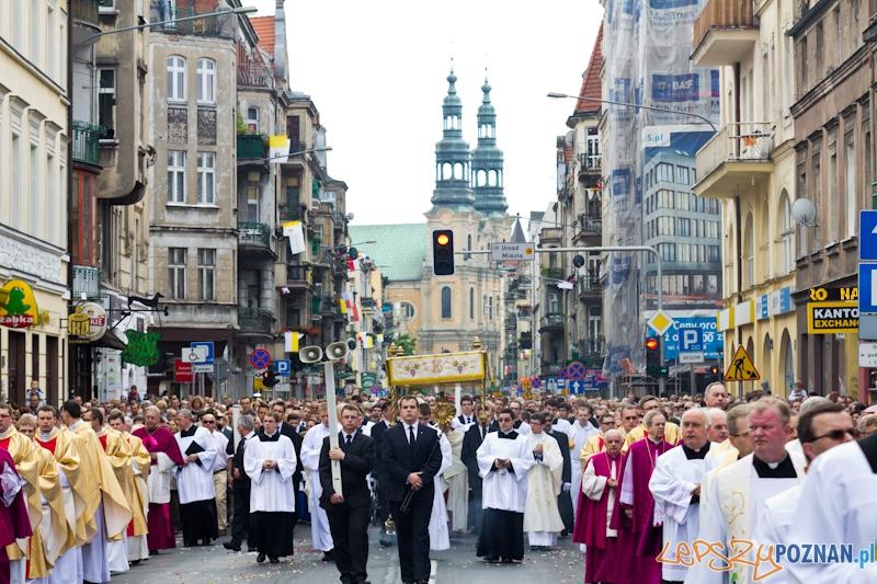 Uroczystość Najświętszego Ciała i Krwi Chrystusa, zwana potocznie Bożym Ciałem Foto: lepszyPOZNAN.pl / Piotr Rychter