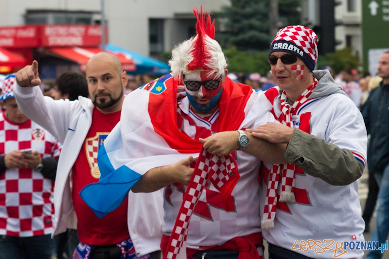 Mecz Chorwacja - Włochy - Stadion Miejski w Poznaniu  Foto: lepszyPOZNAN.pl / Piotr Rychter