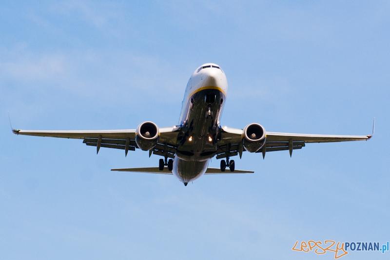 Samolot Boeing 737-800  Foto: LepszyPOZNAN.pl / Paweł Rychter