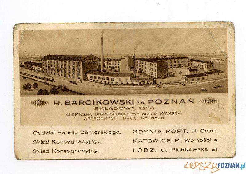 Barcikowski - Towarowa 47-51  Foto: Muzeum Narodowe w Poznaniu, wystawa Miejska ikonosfera na drukach reklamowych z widokami Poznania 18