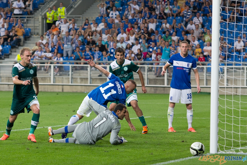Druga runda eliminacji Ligii Europejskiej mecz Lech Poznań – Chazar Lenkoran  Foto: Anna Bernard / agencjab3.pl