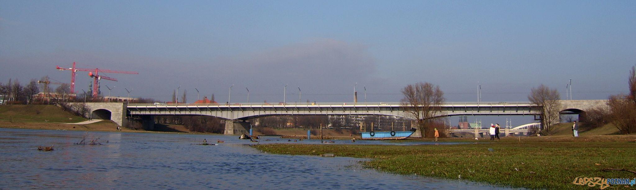 Most Królowej Jadwigi w Poznaniu  Foto: wikipedia.pl