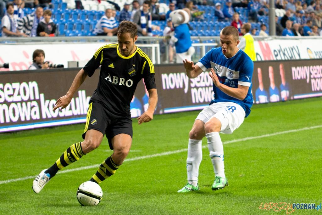 Lech Poznań - AIK Solna, Stadion Miejski 9.08.2012 r.  Foto: Agencja B3 / Anna Bernard
