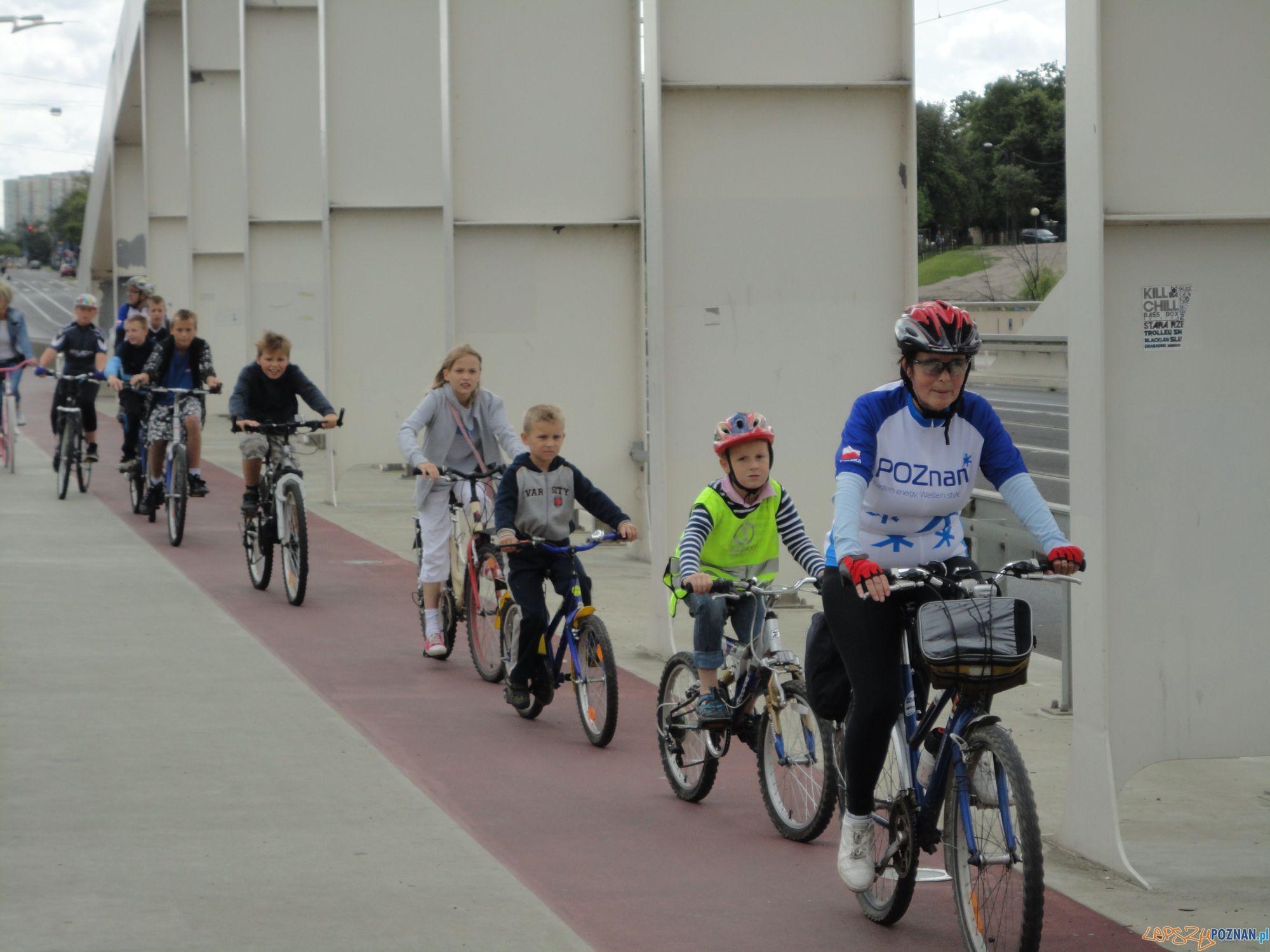 Rajd rowerowy dla dużych i małych  Foto: