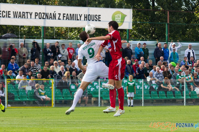 1/16 finału Pucharu Polski - Warta Poznań - Podbeskidzie Bielsko-Biała  Foto: lepszyPOZNAN.pl / Piotr Rychter