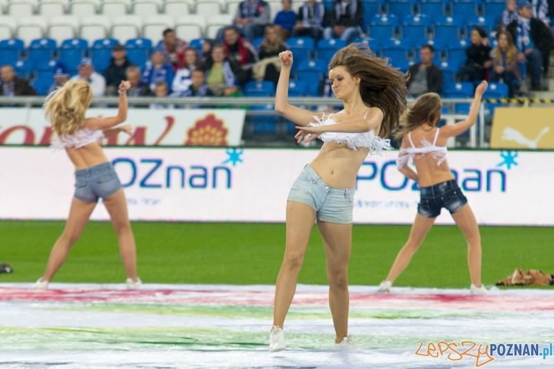 7 kolejka Extraklasy - Lech Poznań - Piast Gliwice. Stadion Miejski 6.10.2012 r. (Kolejorz Girls)  Foto: lepszyPOZNAN.pl / Piotr Rychter