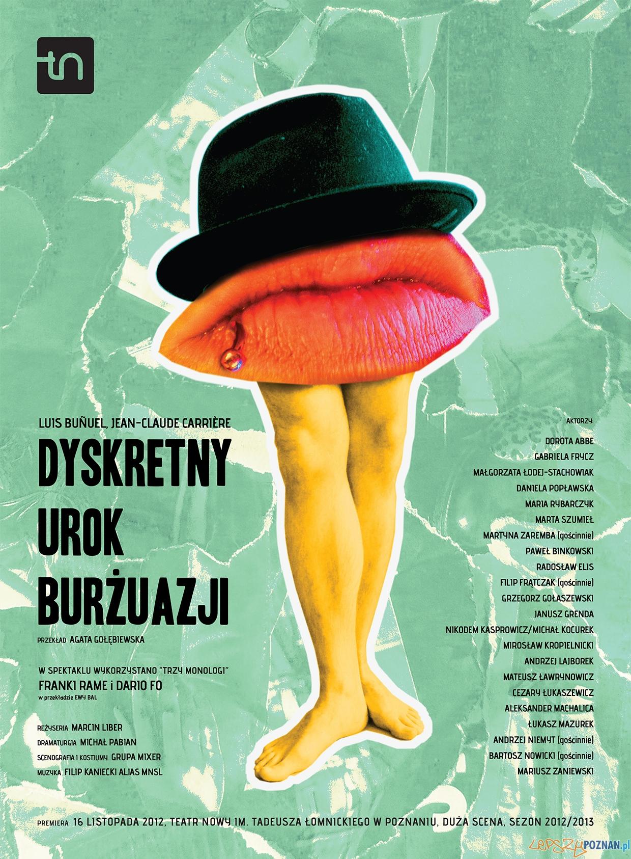 Dyskretny urok burżuazji  Foto: Teatr Nowy w Poznaniu