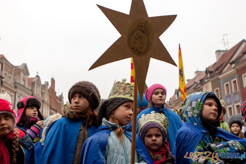 Orszak Trzech Króli - 06.01.2013 r.  Foto: LepszyPOZNAN.pl / Paweł Rychter