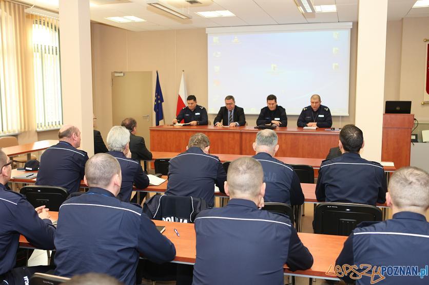 Policyjne podsumowanie roku  Foto: KMP
