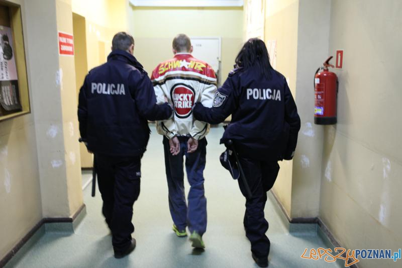 Policja ujęła sprawców kradzieży  Foto: Komenda Wojewódzka Policji w Poznaniu