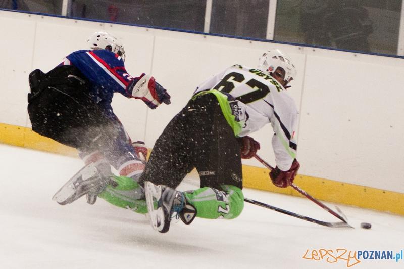 Finał play-off II ligi hokeja - PTH Poznań - WTH Wrocław. 23.03.2013 r.  Foto: LepszyPOZNAN.pl / Paweł Rychter