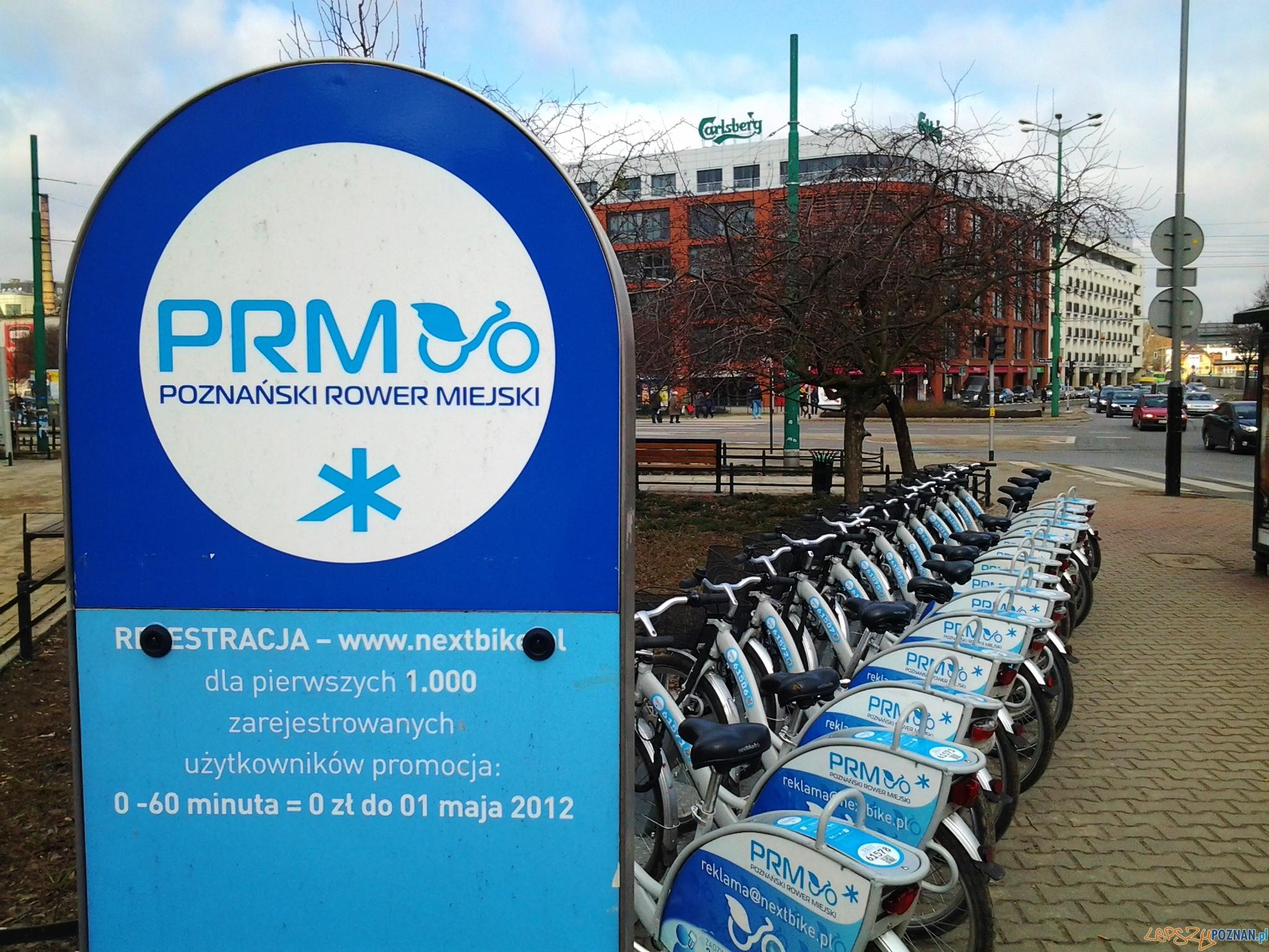 Rowery miejskie  Foto: lepszyPOZNAN.pl / tab 10.1