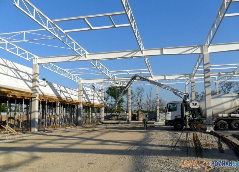 Budowa marketu Leroy Merlin w Złotnikach  Foto: materiały prasowe