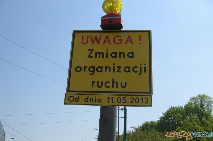Nowe oznakowanie na ul. Królowej Jadwigi  Foto: ZDM