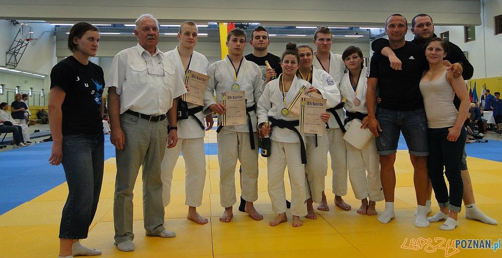 Judocy na turnieju w Berlinie  Foto: PKS OLIMPIA