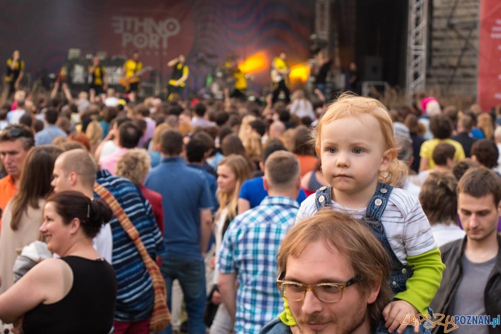 Występ zespołu Dubioza kolektiv (Bośnia i Hercegowina) - EthnoPort 2013  Foto: Bartosz Lewandowski