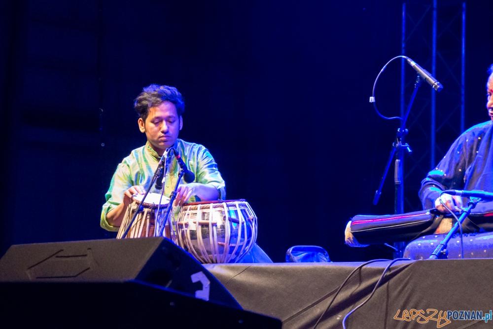 Występ zespołu Pandit Haripasad Chaurasia (Indie) - EthnoPort 2013  Foto: Bartosz Lewandowski