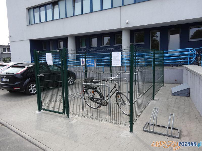 Klatki dla rowerów na Chwiałce (5)  Foto: POSiR