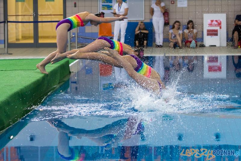 Mistrzostwa Polski Juniorek Młodszych w Pływaniu Synchronicznym - Termy Maltańskie 9.06.2013 r.  Foto: lepszyPOZNAN.pl / Piotr Rychter