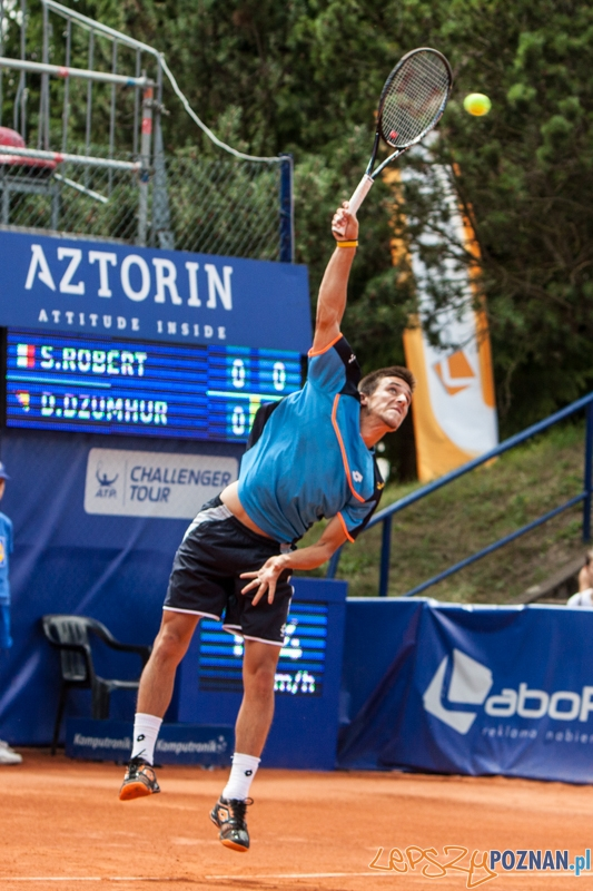 Pół finał Poznań Open na kortach TS Olimpia - Poznań 20.07.2013 r.  Foto: LepszyPOZNAN.pl / Paweł Rychter