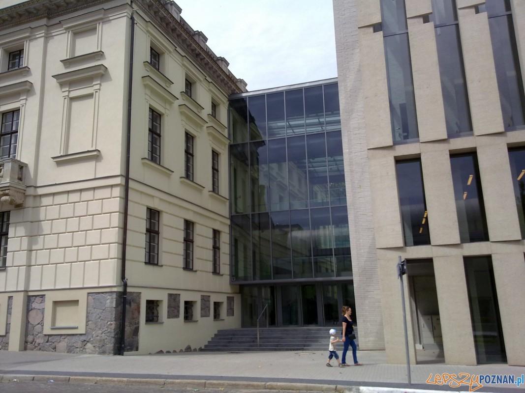 Stara i nowa część Biblioteki Raczyńskich Foto: TD