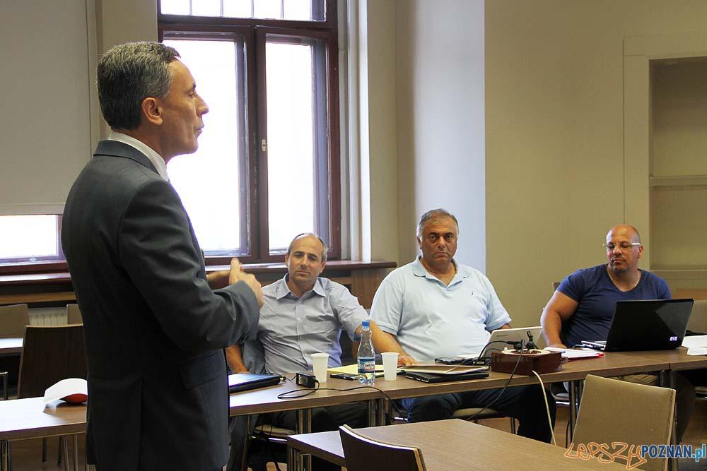 Doktoranci z Izraela na Uniwersytecie Ekonomicznym  Foto: UEP