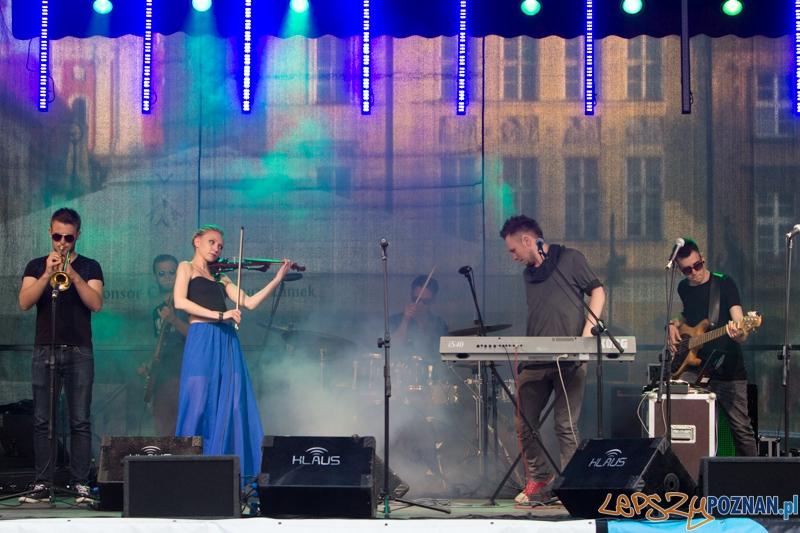 XV STAROMIEJSKIE KONCERTY JAZZOWE I KAMERALNE - Brainfreezer Soundsystem - Stary Rynek 6.07.2013 r.  Foto: lepszyPOZNAN.pl / Piotr Rychter