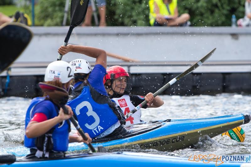 Europejskie Mistrzostwa Kajak polo - Polska - Włochy Kobiety U21  Foto: lepszyPOZNAN.pl / Piotr Rychter