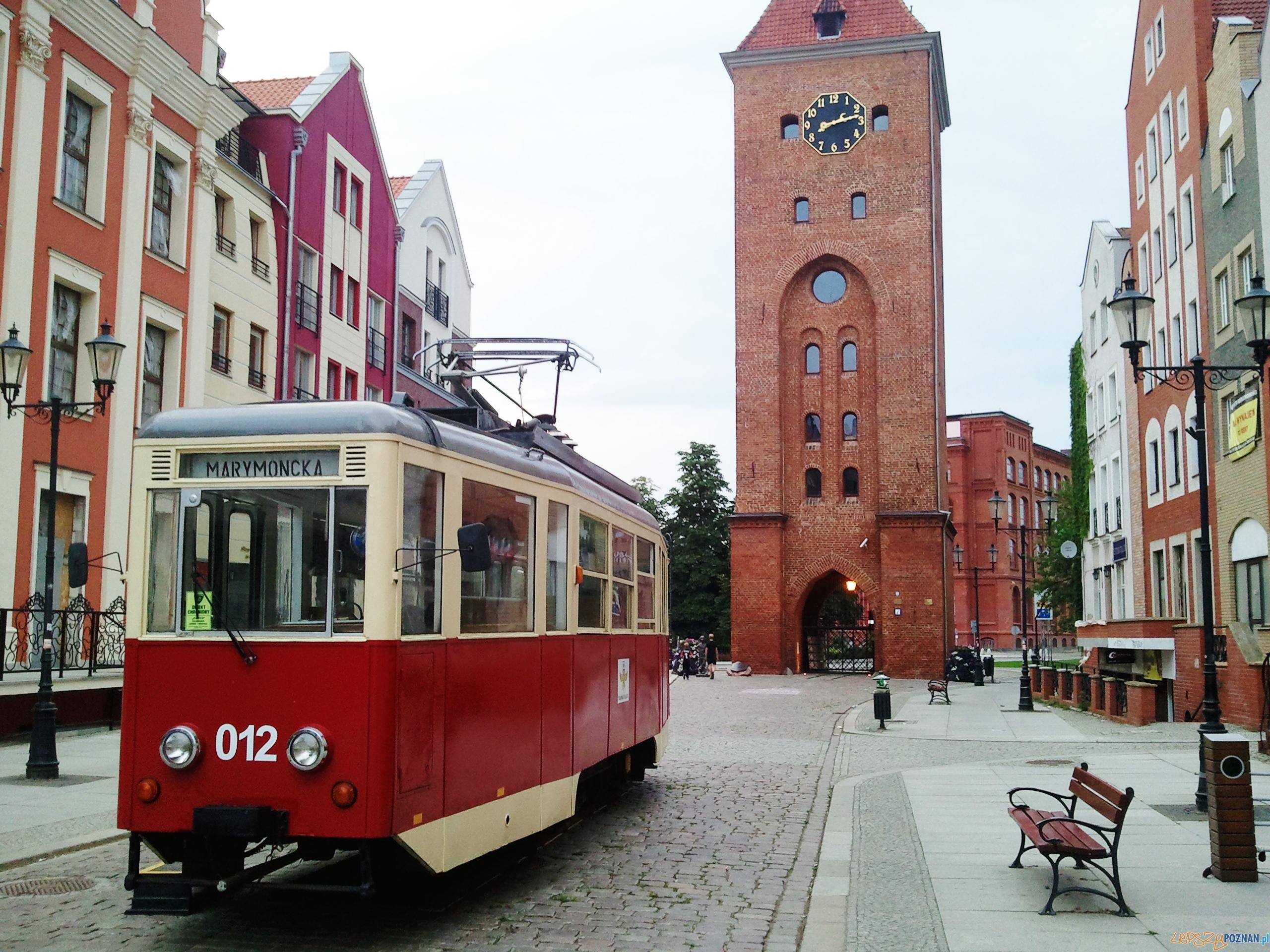 Zabytkowy tramwaj w Elblągu  Foto: lepszyPOZNAN.pl / gsm