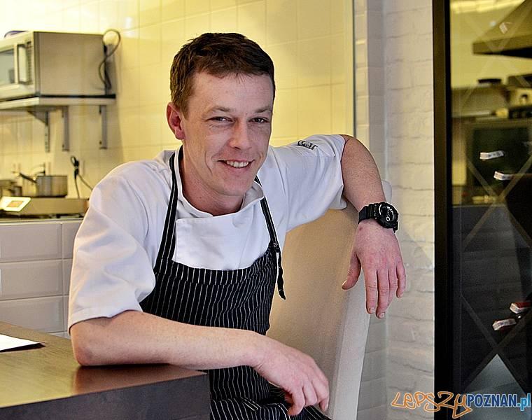 Dominik Narloch, Szef Kuchni Hugo Restaurant  Foto: Kulinarny Poznań