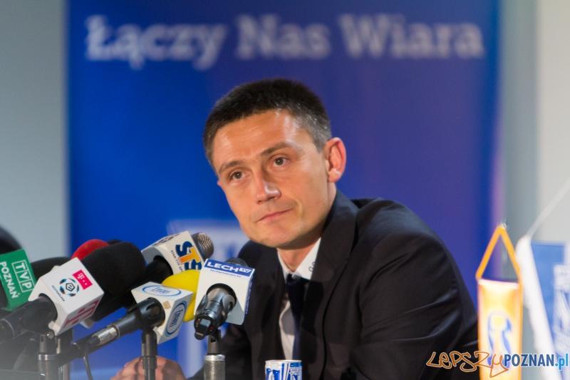 Trener Lecha Poznań - Mariusz Rumak  Foto: lepszyPOZNAN.pl / Piotr Rychter