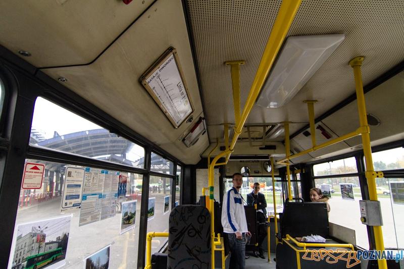 MPK żegna autobusy Neoplan - Poznań 12.10.2013 r.  Foto: LepszyPOZNAN.pl / Paweł Rychter