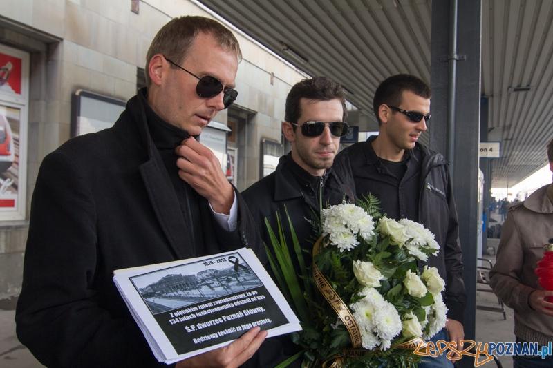 Pogrzeb Dworca Głównego  Foto: lepszyPOZNAN.pl / Piotr Rychter