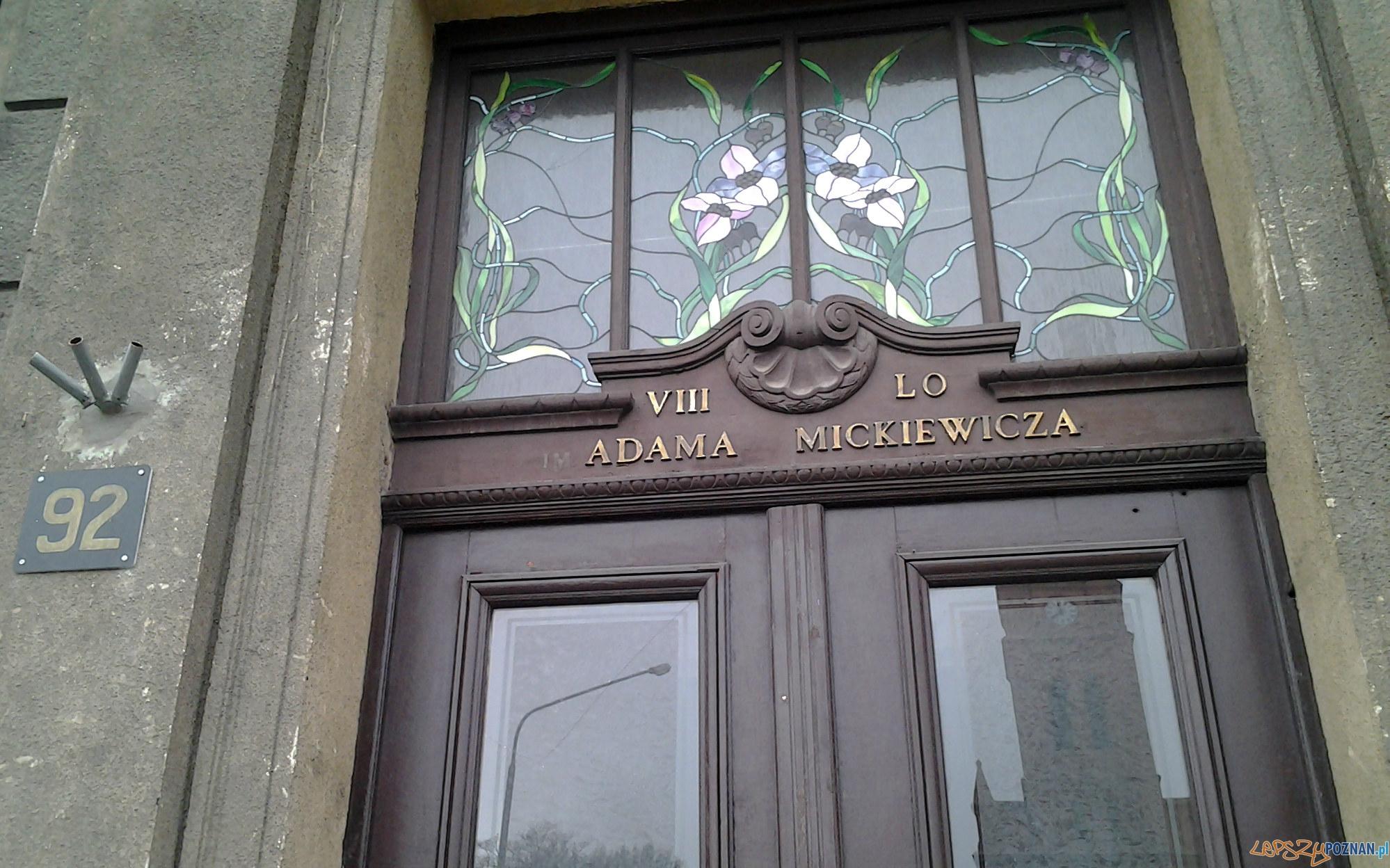 Ósemka - VIII LO - 8 LO  Foto: lepszyPOZNAN.pl / tab