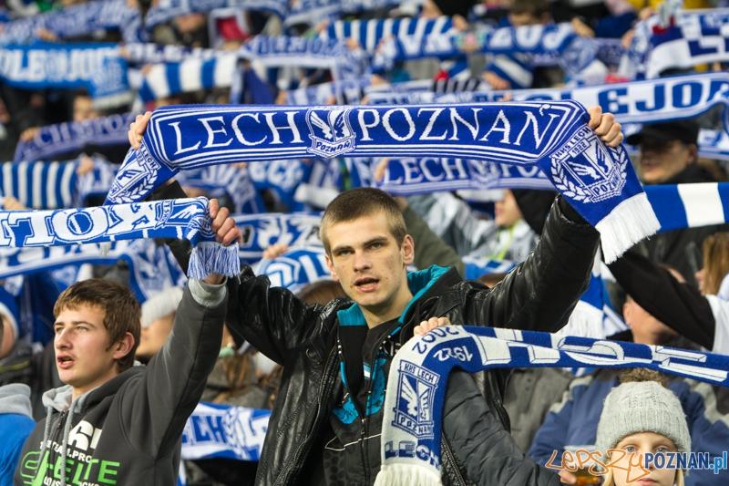 16. kolejka T-Mobile Ekstraklasy Lech Poznań - Ruch Chorzów (najlepsi kibice na świecie)  Foto: lepszyPOZNAN.pl / Piotr Rychter