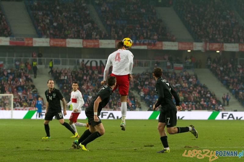 Mecz towarzyski Polska - Irlandia, Poznań Inea Stadion - 19.11.2013 r.  Foto: lepszyPOZNAN.pl/  Piotr Rychter