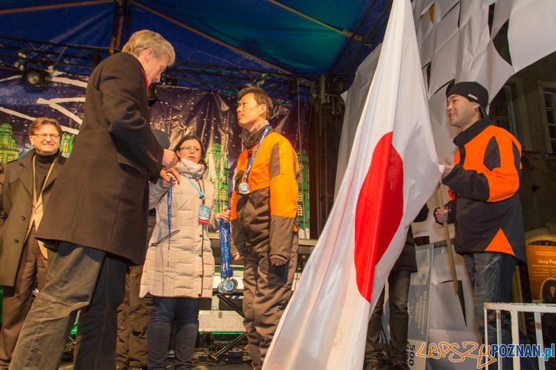 Wręczenie nagród Festiwalu Rzeźby Lodowej  Foto: lepszyPOZNAN.pl / Piotr Rychter