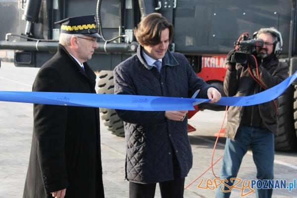 Otwarcie Terminalu na Franowie  Foto: PKP Cargo