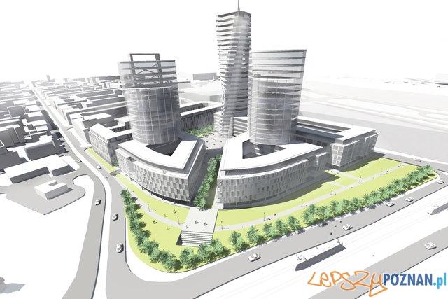 PKS - wizualizacja inwestycji  Foto: Pracownia Architektoniczna Grzegorz Czerwiński