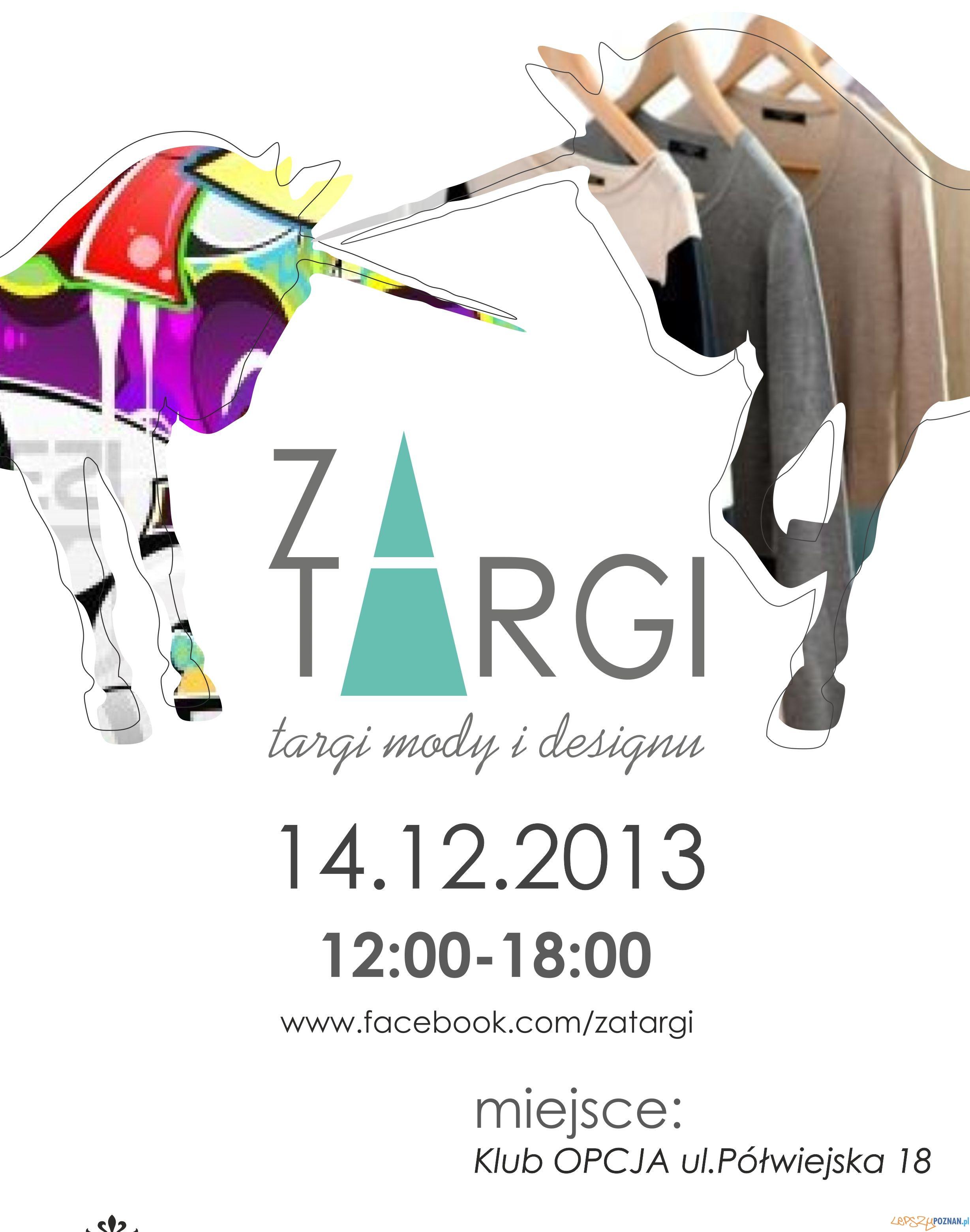 Plakat 4edycja ZATARGI  Foto: