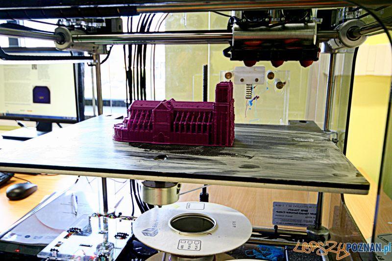 Laboratorium Technik Informatyk. Wydruk 3D.  Foto: Przemysław Kozakiewicz