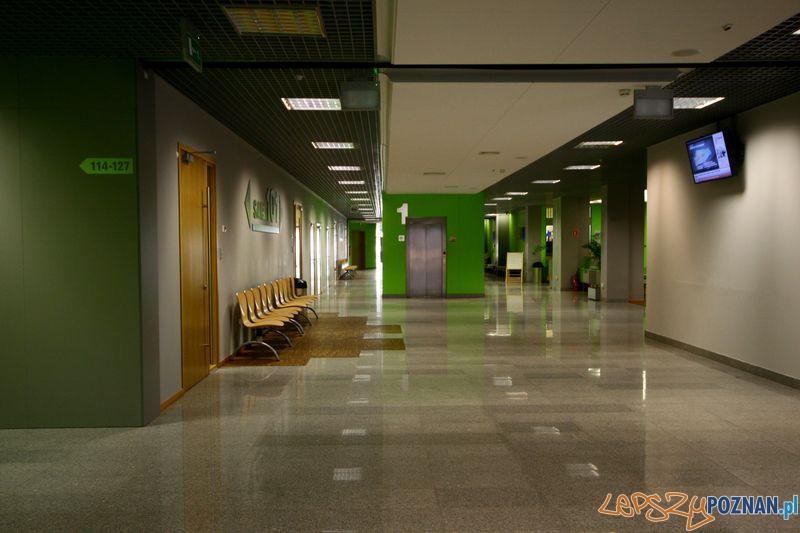 Wnętrze budynku Mechatroniki i Nanoiżynierii.  Foto: Przemysław Kozakiewicz