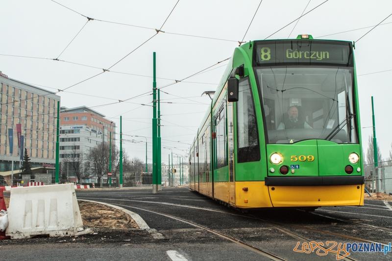 Tramwaj linii 8  Foto: LepszyPOZNAN.pl / Paweł Rychter